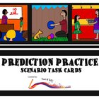 Prediction Scenario Task Cards - Freebie
