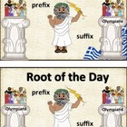 Prefix/Suffix Greek Root of the Day Book and Bundle-Common