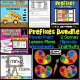 Prefixes Bundle: (1Week Lesson Plan, Powerpoint, worksheet