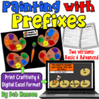 Prefixes Craftivity (featuring un, dis, re, pre, and mis)
