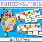Prefixes and Suffixes - 4 board games