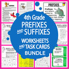Prefixes and Suffixes-Fourth Grade Common Core Lessons