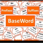 Prefixes and Suffixes Poster Set - ORANGE