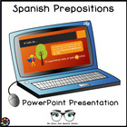 FREE Preposiciones - Prepositions PowerPoint, Around Town