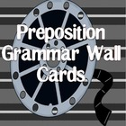 Preposition Grammar Wall Cards