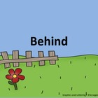 "Preposition Playground - FREEBIE!  ""Behind"""