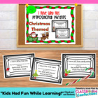 Prepositional Phrases I Have Who Has {Christmas Themed Activity}