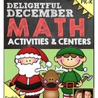 Preschool & Kindergarten Common Core Math Pack for December