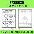 Preschool & Kindergarten Common Core Math Pack for November