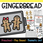 Preschool Lesson Plan- Gingerbread
