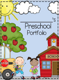 Preschool Portfolio and Memory Book