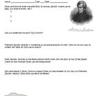 President Andrew Jackson Worksheet Activity, Answer Key, C