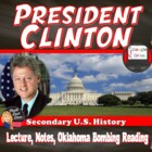 President Bill Clinton Power Point Lecture Presentation