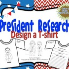 President Research: Design a T-shirt