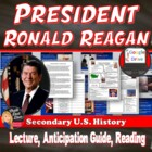 President Ronald Reagan Power Point Lecture Presentation