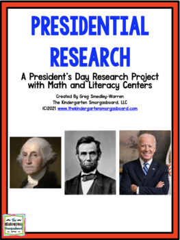 Presidential Writing:  A Common Core President's Day Creation!