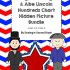 Presidents Bundle Hundreds Chart Hidden Picture Sets