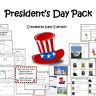 President's Day Activity Pack - Home Project Included!