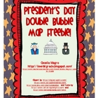 President's Day Double Bubble Map Freebie