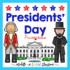Presidents' Day Free Printables