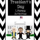 President's Day Literacy Activities