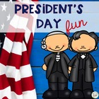 President's Day Literacy Fun Activity Pack