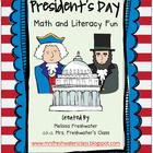 President's Day Math & Literacy Fun