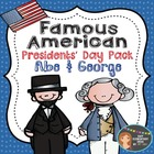 Presidents' Day Pack Abe Lincoln & George Washington {Powe