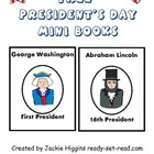Presidents Day Printable Mini-books