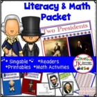 Presidents' Day! Two Presidents  A Shared Reading Singable {CCSS}