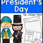 Presidents Day Unit including 10 Literacy and Math Centers
