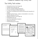 Presidents and/or Presidents Day Activity Pack