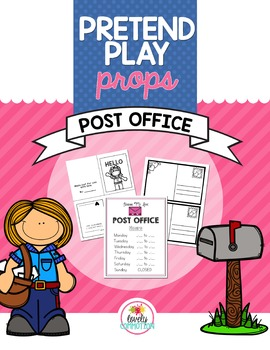 Pretend Play Props- Post Office