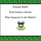 Primary MAP testing Word Problem Review Smartboard