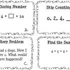 Primary MAP testing review task cards