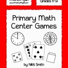 Primary Math Center Games