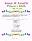 Primary Math Lace and Learn