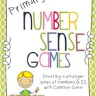Primary Number Sense Games