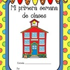 Primera semana de clases - First Week of School in Spanish
