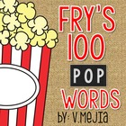 Print and Cut Fry's First 100 Sight Words