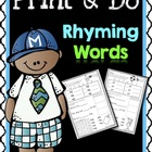 Print & Do {Rhyming Words}