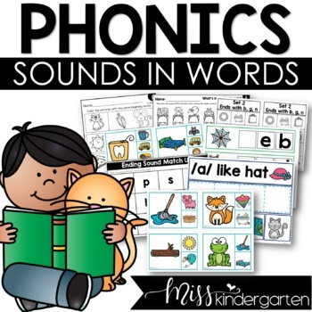 Print and Go {Beginning Sounds Practice}