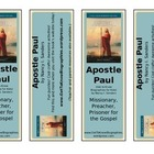 Printable Bookmarks Get to Know Apostle Paul