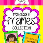 Printable FRAMES Collection