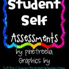 Printing/Coloring Writing Student Self Assessment