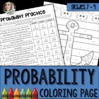 Probability Coloring Worksheet