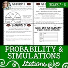 Probability and Simulations Stations