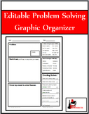 Problem Solving Assessment - Personalizable for Different Classes