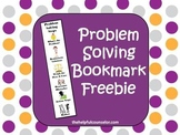 Problem Solving - Life Skills Bookmark Freebie