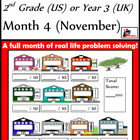 Problem Solving Path - Grade 2/ Year 3 - Month 4